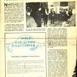 Članak u listu Z.B