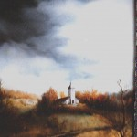 11. Kapelica, ulje-staklo, 25x30 1983.