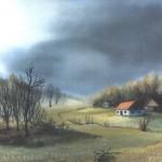 18. Rano proljeće, ulje-staklo, 30x40, 1979.