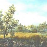 34. Lopuhi i gacija, ulje-staklo, 30x40, 1994.