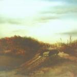 4. Jesen, ulje-staklo, 30x40, 1981.