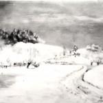 4. Zima-ulje lesonit, 25x40, 1974.
