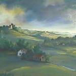 46. Pejzaž, ulje-platno, 50x70 1996.