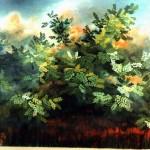 48. Gacija, ulje-staklo, 20x25 1988.
