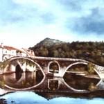 54. Rijeka Crnojevića, ulje-lesonit, 70x100, 1988.