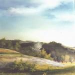 56. Ljeto, ulje-staklo, 30x25, 1997.