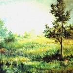 58. Pejzaž, ulje-platno, 40x50, 1989
