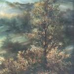 69. U planini, ulje-staklo, 30x25, 1990.