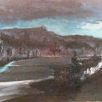 7. Nočni foringaš, ulje-lesonit, 40x60, 1975.