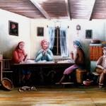 8. Čehatva, 40x55 ulje-platno, 1982.