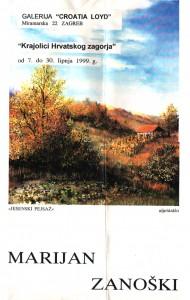 Galerija Croatia Lloyd - plakat