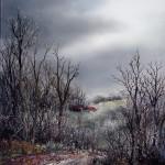 Studeni, ulje - staklo, 40x35  2006.
