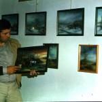 Marijan Zanoški na izložbi u Velikom taboru u Desiniću