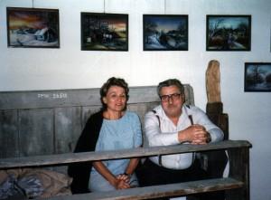 Dr.Nada Grgurić i prof.Josip Štimac u Taborgradu