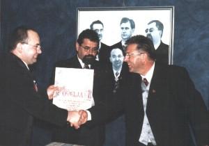 Uručenje povelje Hrvatske udruge Muži zagorskog srca